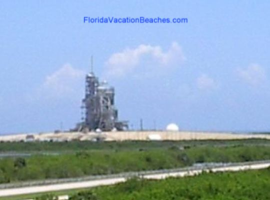 Florida Cape Kennedy shuttle on pad