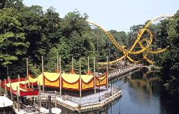 Busch Gardens Williamsburg Loch Ness Monster roller coaster